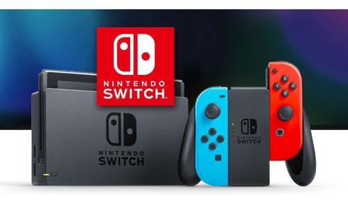 nintendo switch nuevos de paquete entrega inmediata