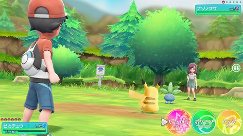 nintendo switch pokemon lets go pikachu nuevo y sellado