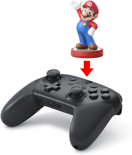 nintendo switch pro controller control