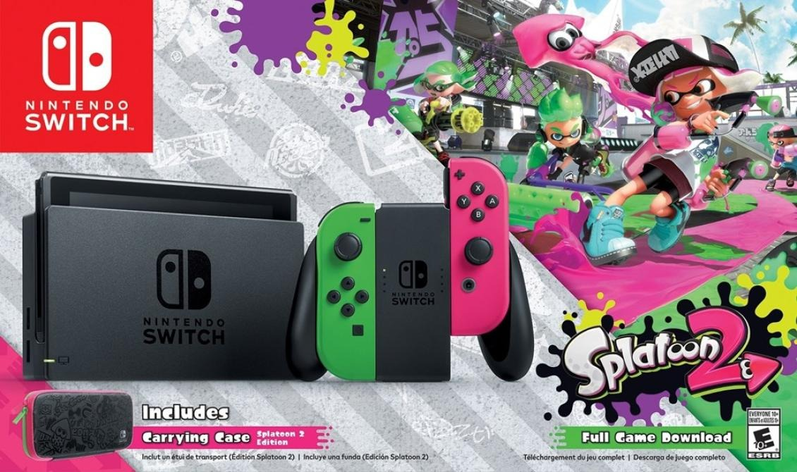 Nintendo Switch Splatoon 2 Nuevos Garantia 3 500 00 En Mercado Libre
