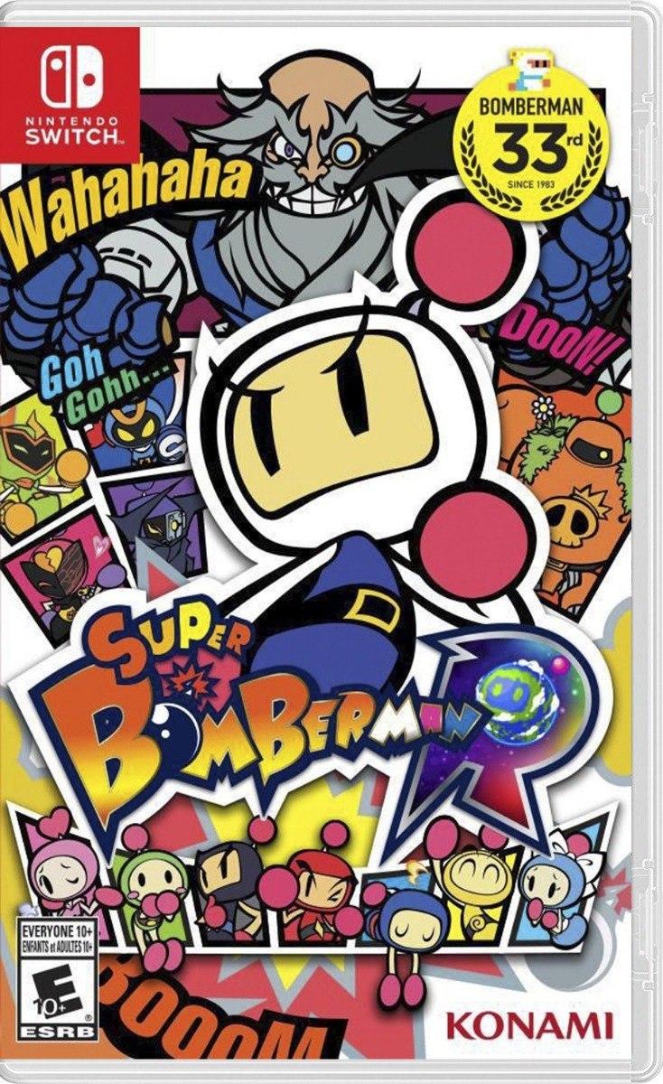 Nintendo Switch Super Bomberman R Juego Nuevo Sellado 1 199 00