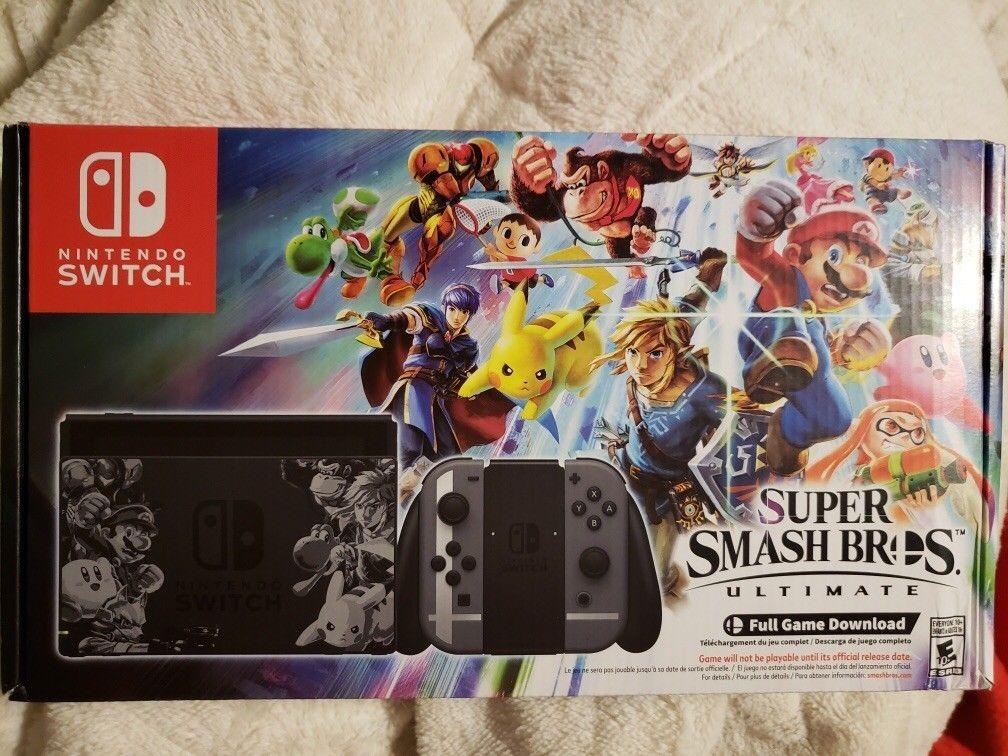 switch super smash bros ultimate edition