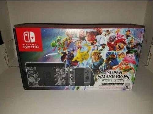 nintendo switch super smashbross edition 32gb nueva original