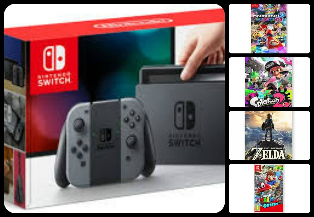 Nintendo Switch Liar W Superior 4 Switch Juegos Zelda Mari