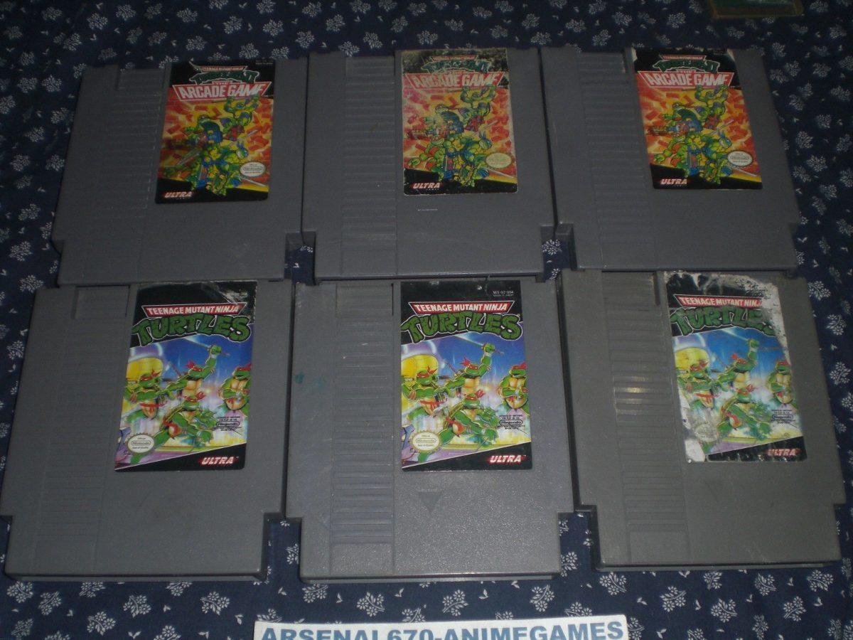 Nintendo Tortugas Ninja 1 Y 2 Ninja Turtles Nes - $ 500.00 en ...
