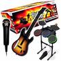 Nintendo Wii Banda Guitar Hero Completa Original * Stargus *
