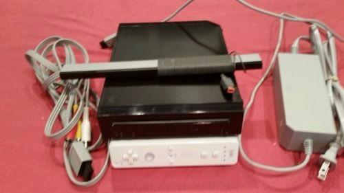 nintendo wii con juegos originales incluye los cables, contr