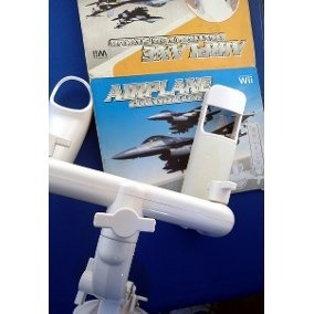 9d2774134 Nintendo Wii Controle Manete Aviao Acessorio Wii Kit · R  29 99