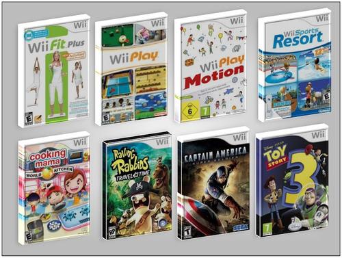 nintendo wii controles & accesorios 100% originales + juego