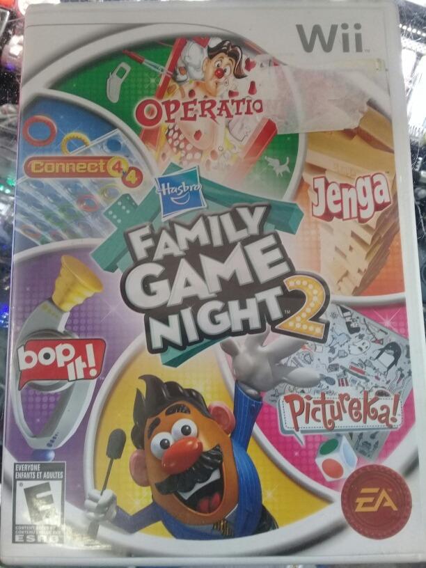 8a491c598 Nintendo Wii Juego Hasbro Family Game Night 2 -   33.000 en Mercado ...