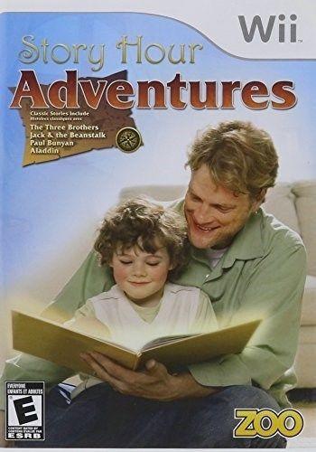 nintendo wii juego historia hora adventures nuevo y sellados