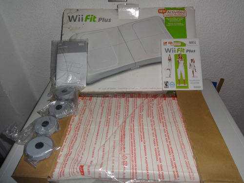 nintendo wii juego wii fit consola