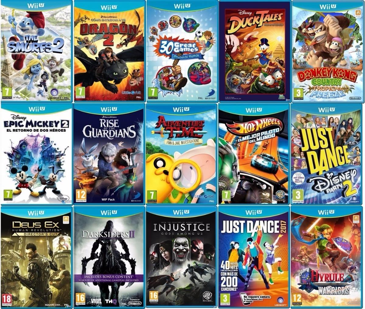 Nintendo Wii U 500gb 90 Wiiu Juegos Mejor Que Switch ...  Nintendo Wii U ...