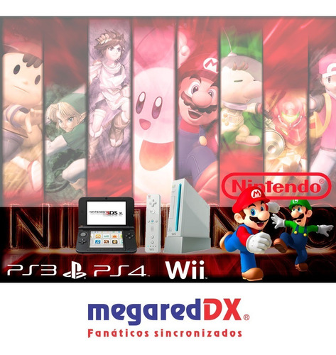 nintendo wii refurbished 2019 + accesorios - factura b