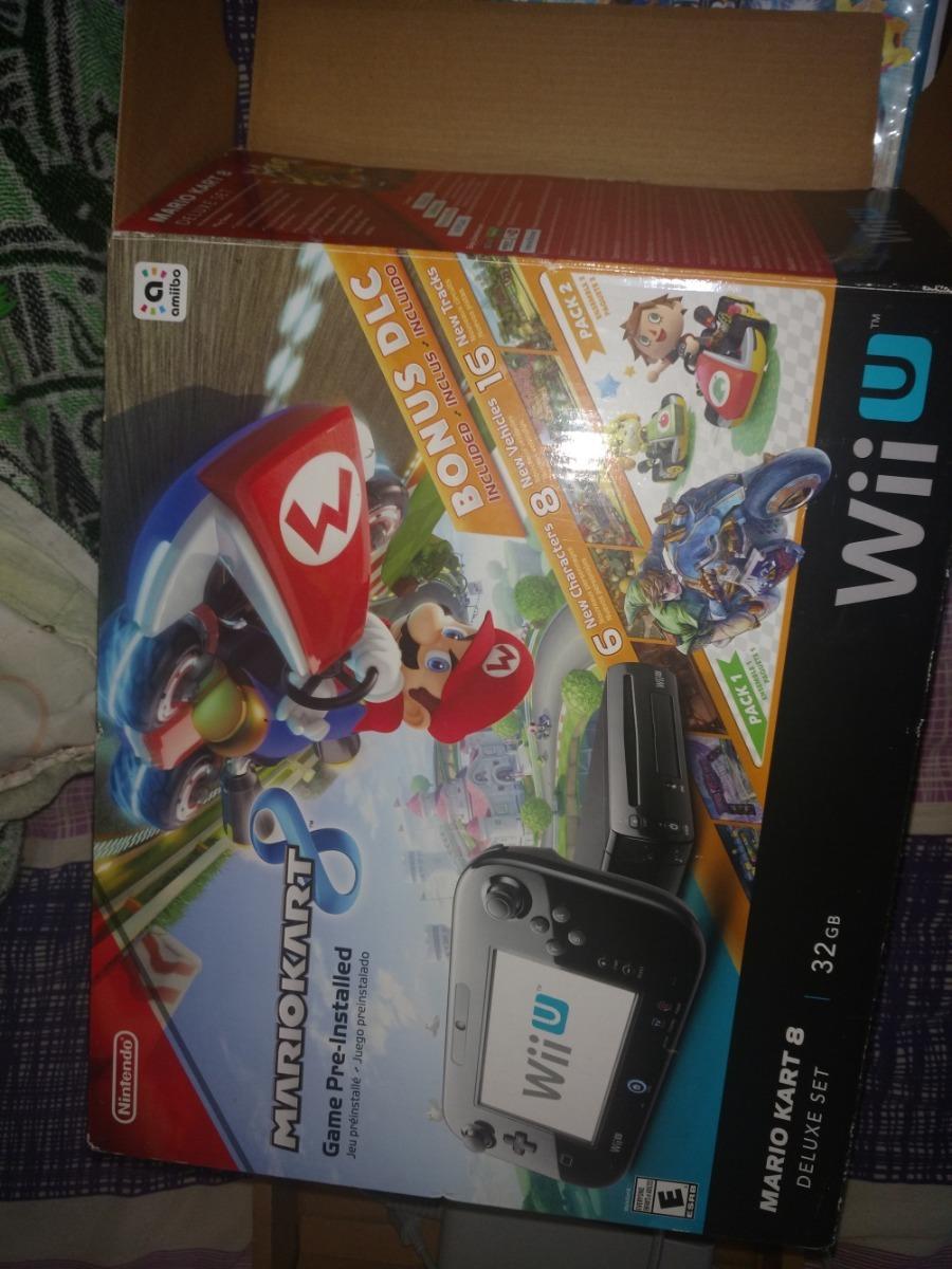 Nintendo Wii U 32gb Con 11 Juegos 3 700 00 En Mercado Libre