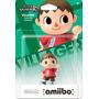 Figura Amiibo Villager Super Smash Bros Para Nintendo