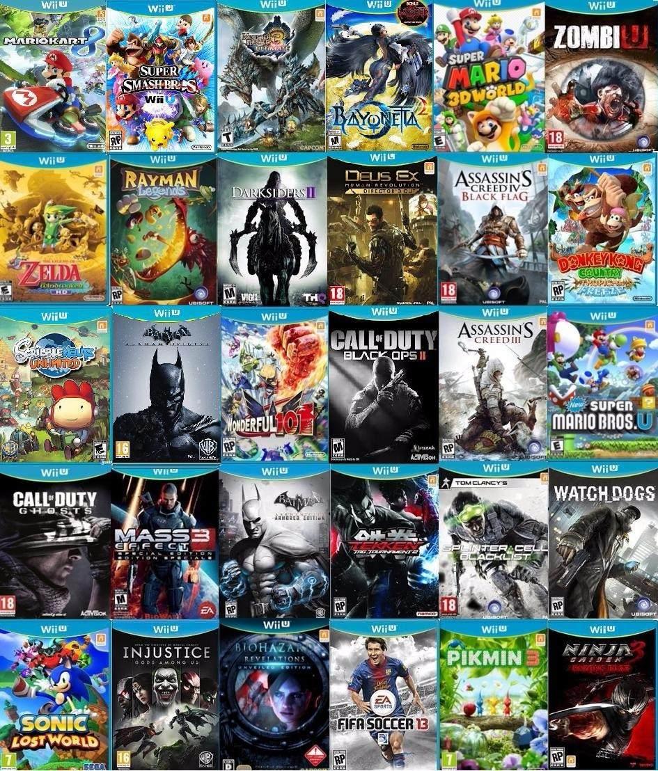 Nintendo Wii U Deluxe Hd 30 Juegos Zelda Mario Hay Stock