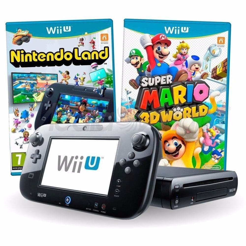 Nintendo Wii U Deluxe Super Mário 3d World 32gb + Nf-e - R$ 1.549,90 on