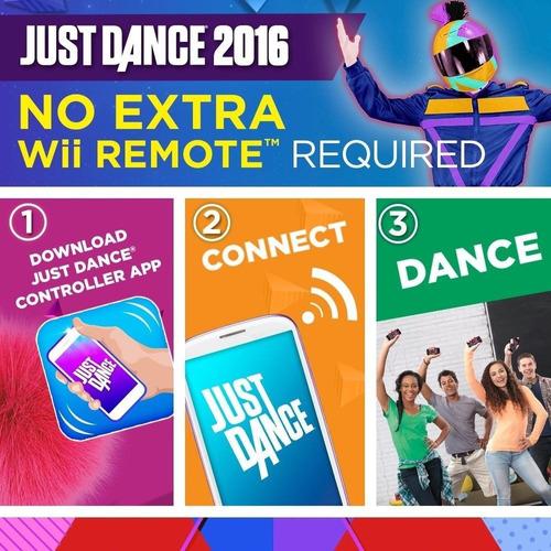 nintendo wii u video juego solo danza 2016 marca nuevo y