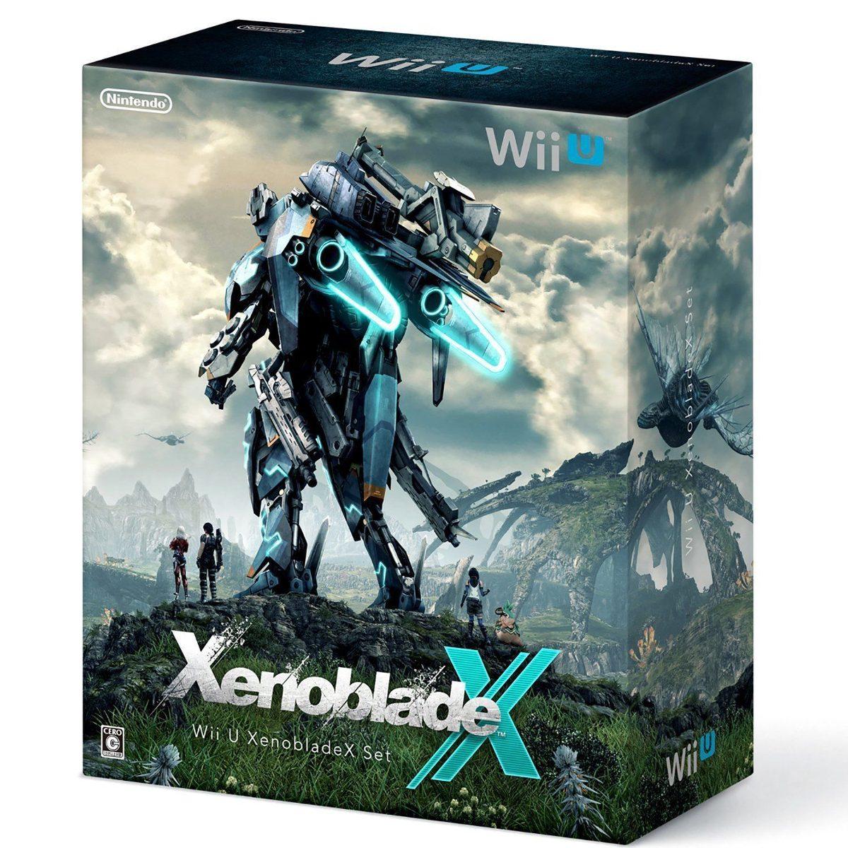 Nintendo Wii U Xenoblade X Set Nuevos Garantia 3 500 00 En