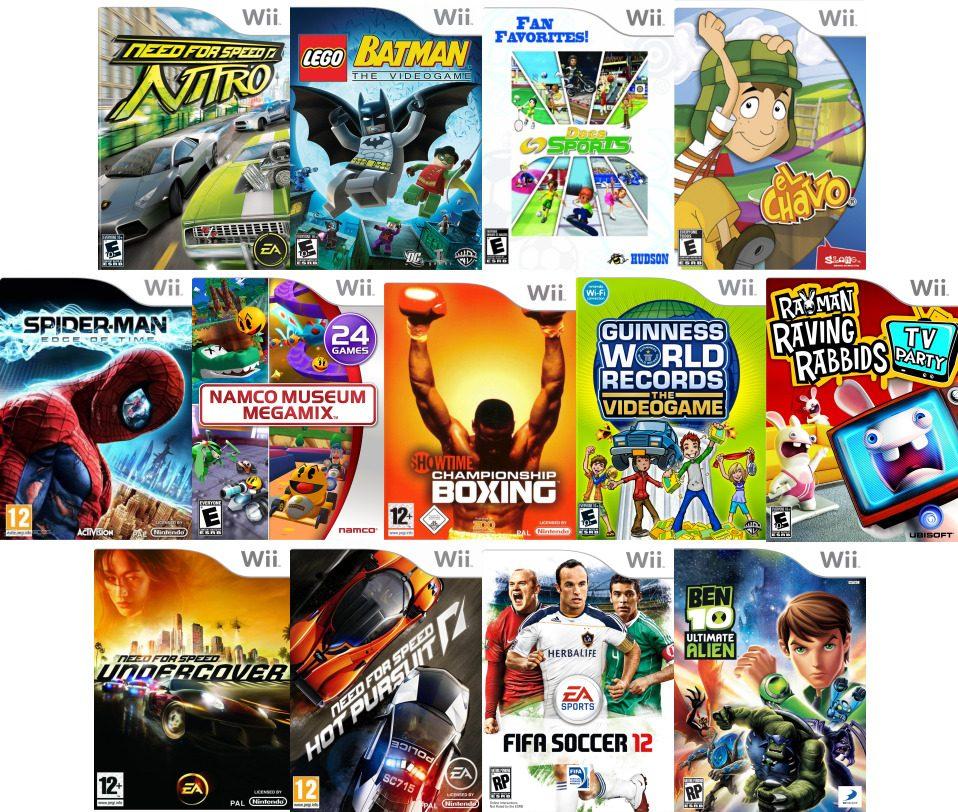 Nintendo Wii Varios Juegos 100 00 En Mercado Libre