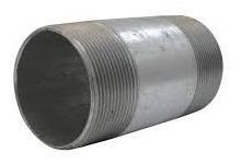niple 3 x 8 galvanizado (20cm largo)