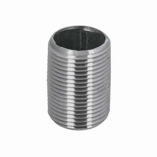 niple galvanizado 3/4'' x 3 cm corrido 2 unid mayor detal