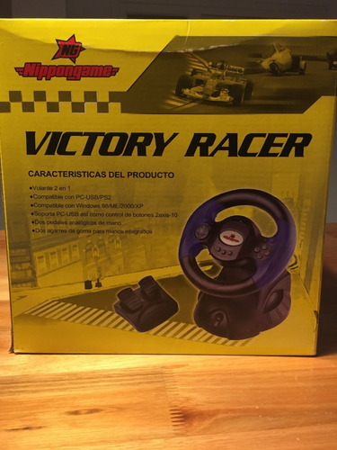 nippongame volante victory racer 2 en 1