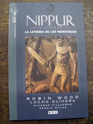nippur * leyenda de monstruos * robin wood y lucho olivera