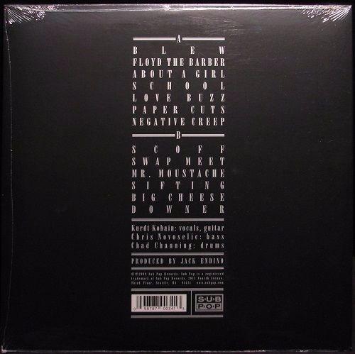 nirvana - bleach (remastered vinyl lp  disponible!