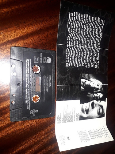 nirvana cassette nevermind importado de españa