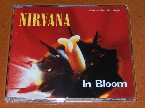 nirvana   in bloom  cd single  alemania