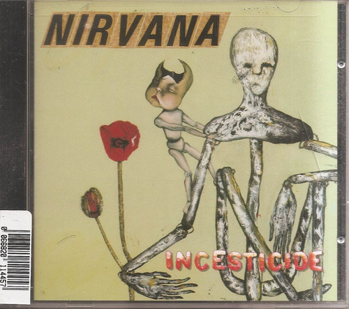 nirvana - incesticide  cd original nuevo - un tesoro músical