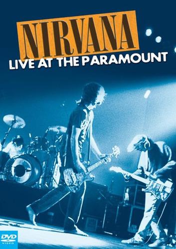 nirvana - live at paramount - dvd novo lacrado