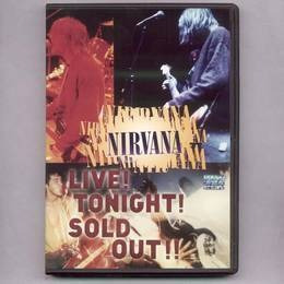 nirvana live tonight sold out dvd nuevo