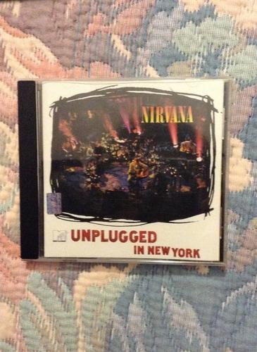 nirvana mtv unplugged cd kurt cobain envío dhl gratis