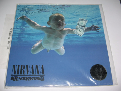 nirvana nevermind  lp 180g.  nuevo disponible! importado!