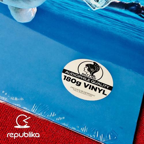 nirvana - nevermind - lp sellado nuevo edición europea