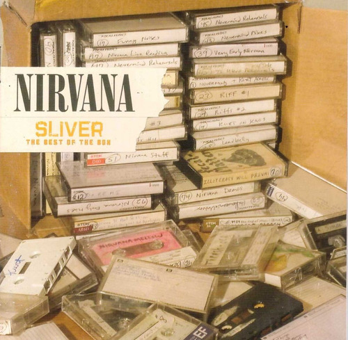 nirvana sliver the best of the box cd original - made in usa