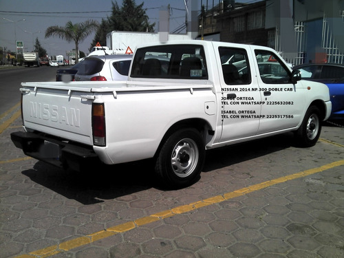 nissan 2014 doble/cab standar 4 cil 2.4 lts eng $ 45,600