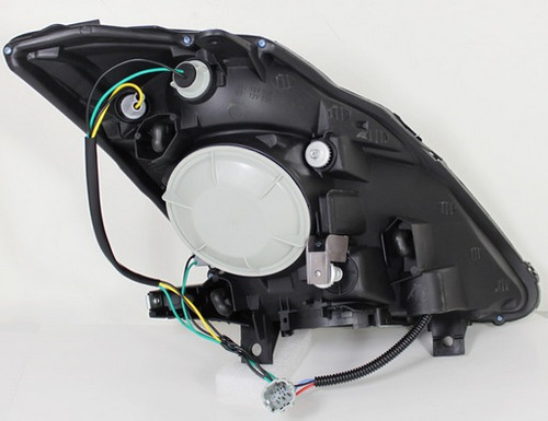nissan 350z 2003 - 2005 juego faros proyector / lupa cromado