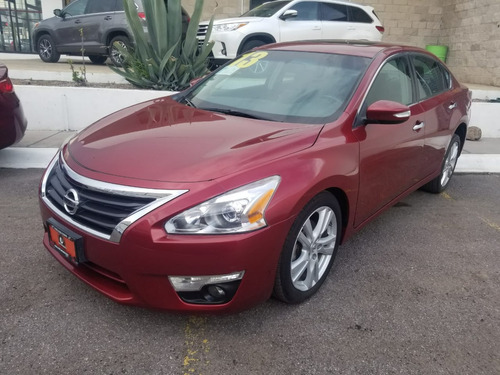nissan altima 3.5 exclusive v6 piel cvt