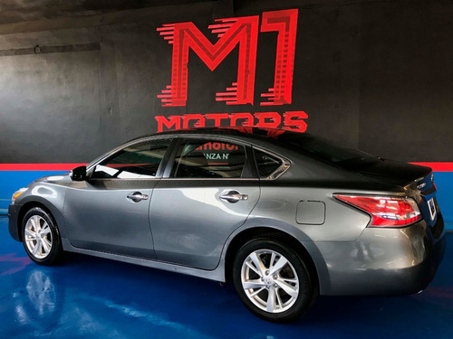 nissan altima sense at 2015 gris $ 173,000