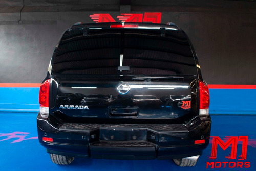 nissan armada 5.6 advance 4x2 2013 negra $ 254,000