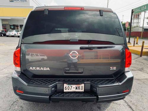 nissan armada 5.6 se piel qc 4x2 at autos usados puebla