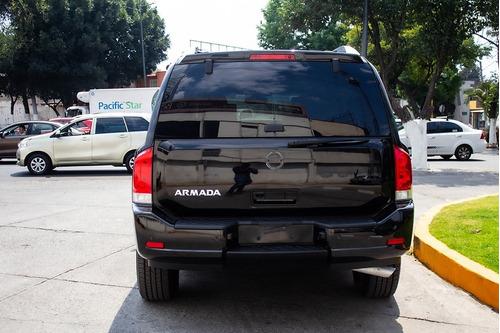 nissan armada exclusive 2012 blindada nivel 4