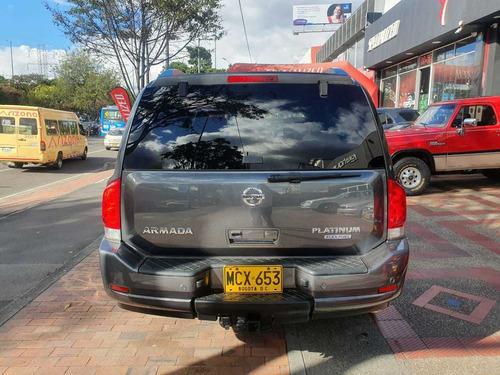nissan armada platinum  5.6 at tc