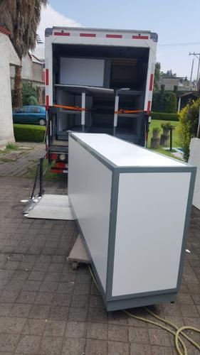 nissan cabstar 2012 con caja seca y rampa