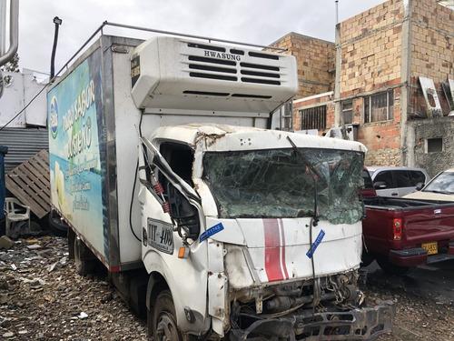 nissan cabstar 2015 furgon accidentado