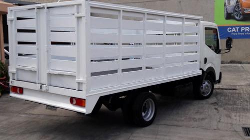 nissan cabstar 3.8 ton hd extendida ac mt 2015